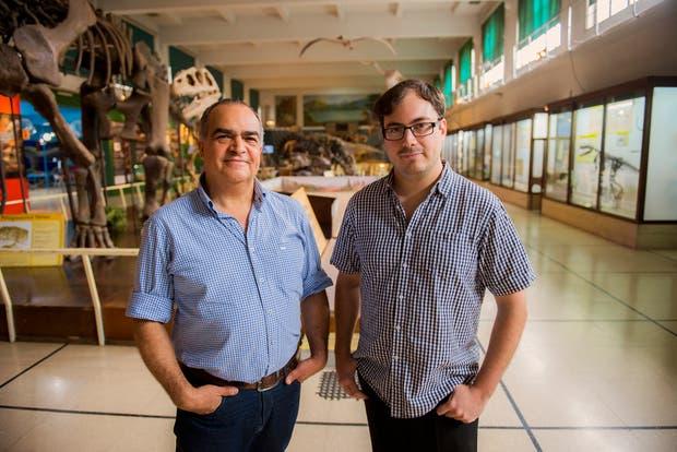 Fernando Novas y Martín Ezcurra