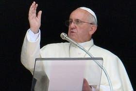 El papa Francisco hizo un fuerte llamado a la paz en el mundo