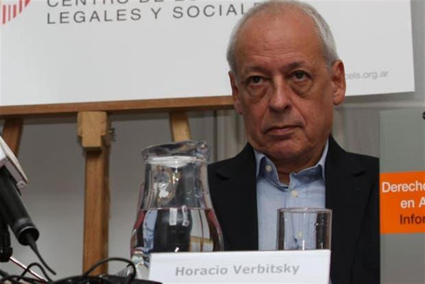 Horacio Verbitsky, presidente del Cels