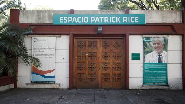 Espacio Patrik Rice, donde funcionaba una capilla en la ESMA que utilizaron para bautizar niños apropiados