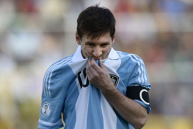 Messi, en duda para enfrentar a Colombia y Ecuador
