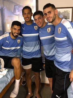 Luis Suárez y la ilusión de jugar contra Argentina
