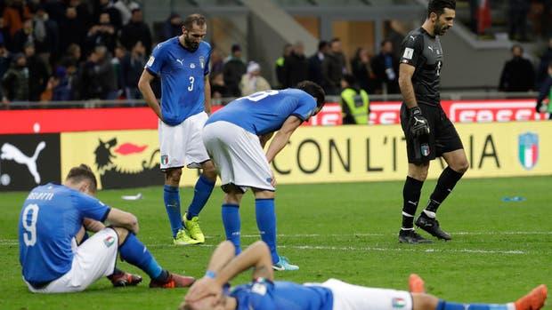 Italia, afuera del Mundial de Rusia 2018
