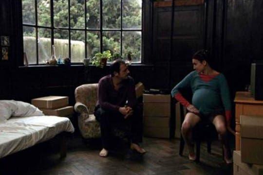 Junto a Valeria Bertuccelli en Extraño, film de Santiago Loza. Foto: Archivo