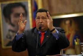 Chávez, en una de sus últimas apariciones tras ganar las elecciones