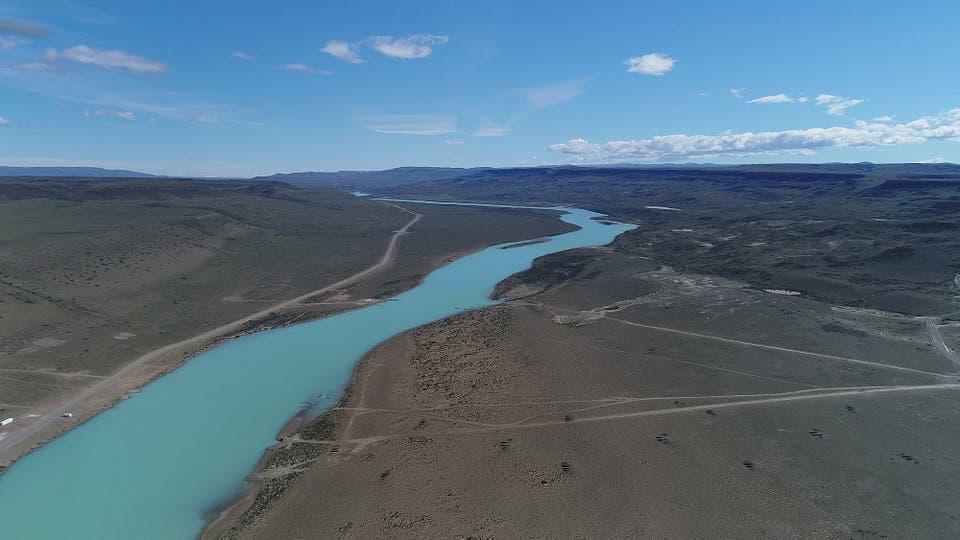 Río Santa Cruz.