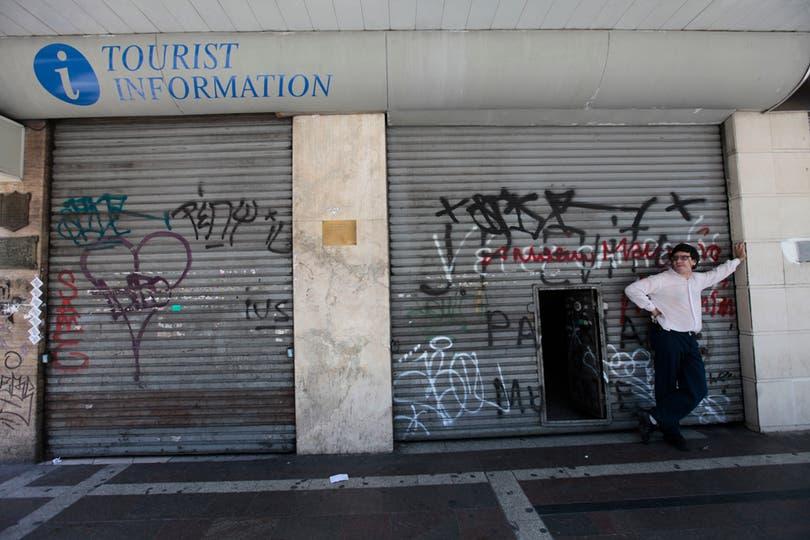 Hubo gran cantidad de Locales cerrados por el paro. Foto: LA NACION / Soledad Aznarez