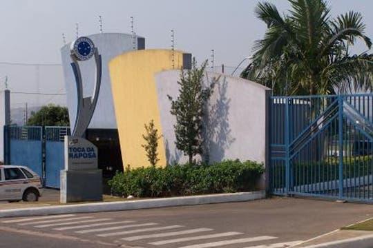 La fachada de Toca de Raposa.