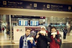 Los argentinos viajan a San Pablo