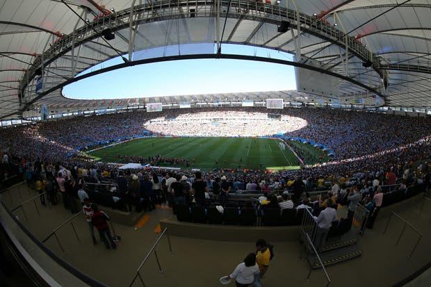 La Argentina perdió con Alemania 1-0 en la final.  Foto:LA NACION /Sebastián Rodeiro / Enviado especial