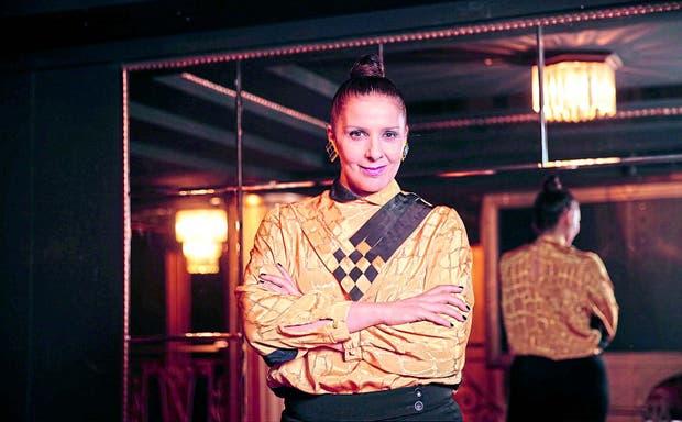 La camaleónica actriz, antes de la transformación