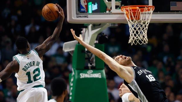 Los Spurs de Ginóbili sufrieron su primer revés