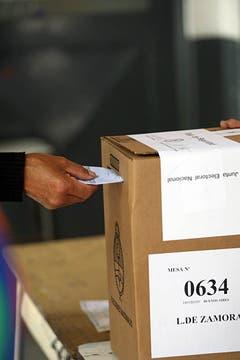 Una jornada electoral que se desarrolló con total tranquilidad. Foto: LA NACION / Ricardo Pritupluk