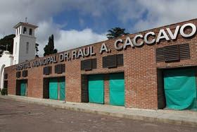 Fachada del Hospital Municipal de Coronel Suárez, donde permanece internada Sonia Molina