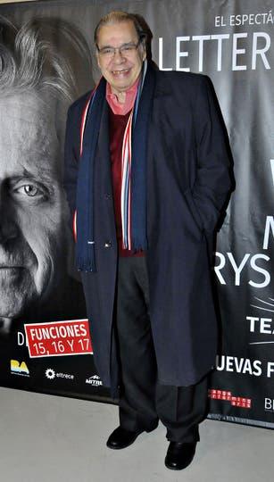 Enrique Pinti no se quiso perder el espectáculo. Foto: LA NACION / Gerardo Viercovich