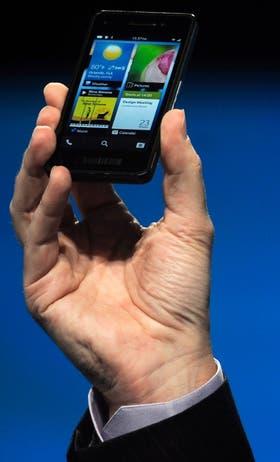 El prototipo del nuevo BlackBerry