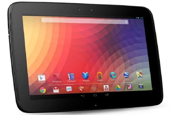 Una Google Nexus con pantalla de 10 pulgadas