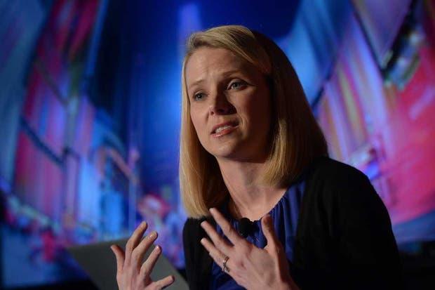 Marissa Mayer, CEO de Yahoo!, durante la presentación de los cambios realizados en la plataforma de fotografía digital Flickr