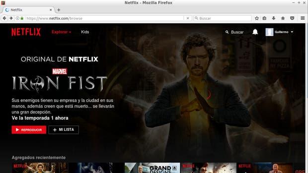 Los usuarios de Linux podrán usar Netflix desde el navegador Firefox