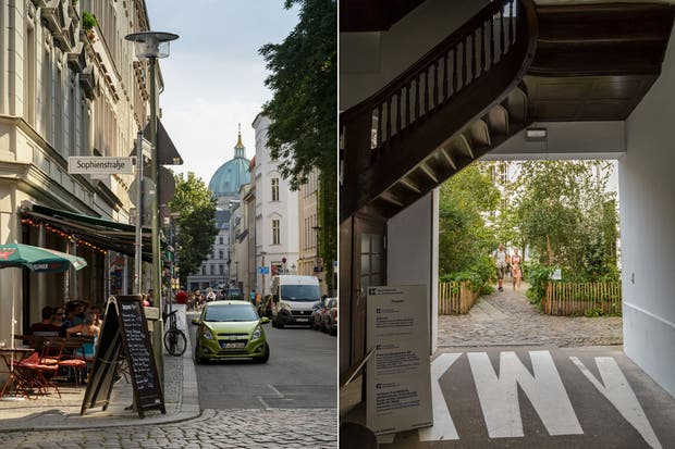 Las calles de Mitte.  Foto:Living /Daniel Karp