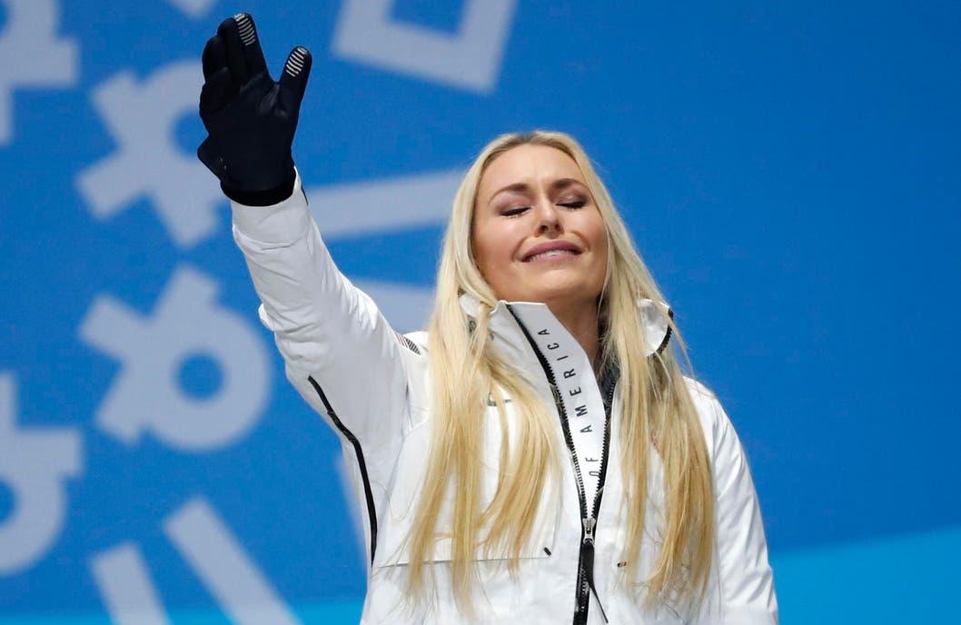 Lindsey Vonn se despide con una medalla de bronce de PyeongChang 2018
