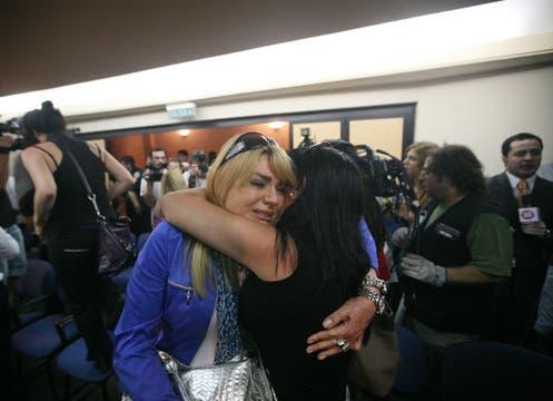 El desconsuelo de los familiares de las víctimas tras el fallo.. Foto: LA NACION / Soledad Aznarez