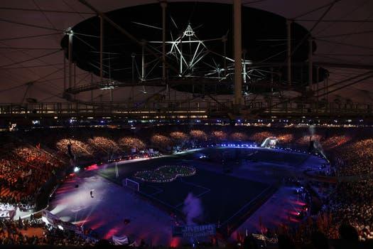 El estadio tiene la pretensión de convertirse en el primer estadio techado de América Latina. Foto: LA NACION / Santiago Hafford