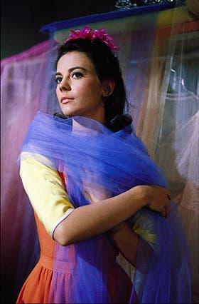 La bella actriz en una escena de Amor sin barreras