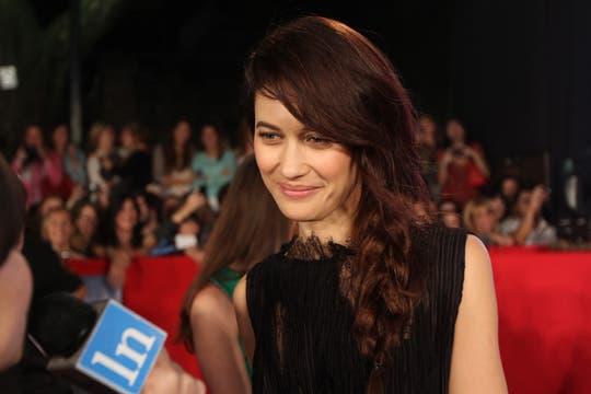 Olga Kurylenko, quien interpreta a Julia en la película. Foto: LA NACION / Matias Aimar