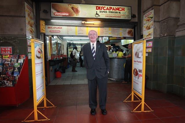 Saúl Macyszyn, fundador de Discapanch