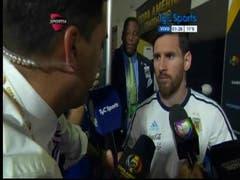 Lionel Messi declara que se retira de la selección