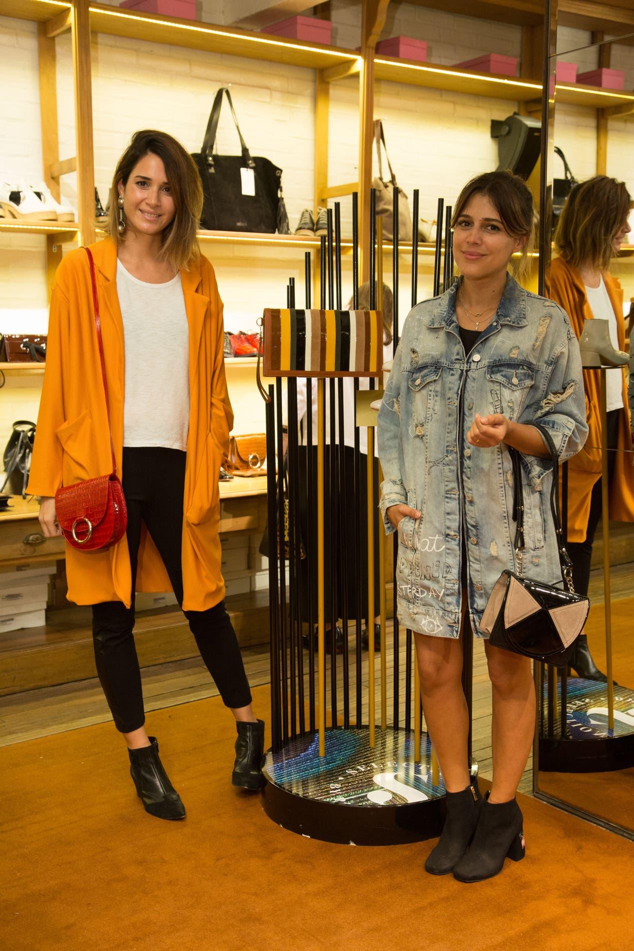 Constanza Crotto y Mariana Gándara se deleitaron con la colección exclusiva de Mishka.