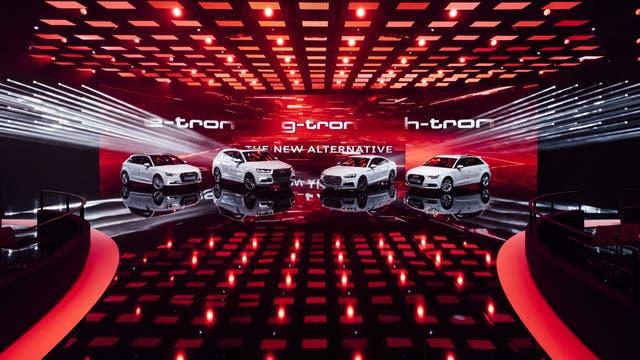 Las energías alternativas de Audi: electricidad, hidrógeno y GNC
