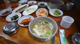 En Corea del Sur la alimentación es rica en fibra y en nutrientes.