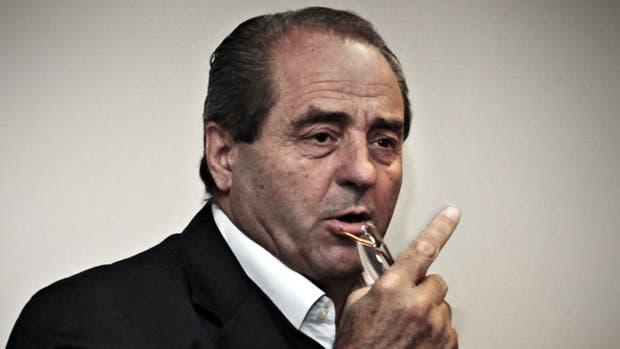 Antonio Di Pietro estuvo al frente de la investigación conocida como Mani Pulite