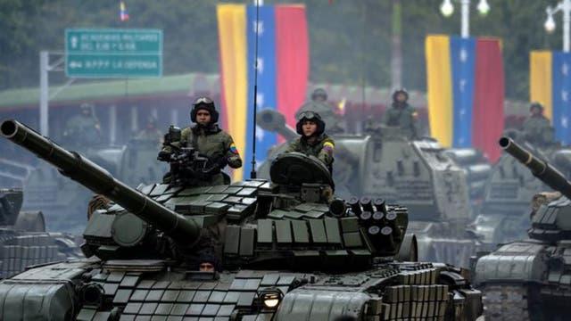 Rusia vendió a Venezuela 57 tanques entre 2012 y 2013