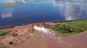 En algunos casos, el agua caída por el temporal alcanzó los 300 milímetros