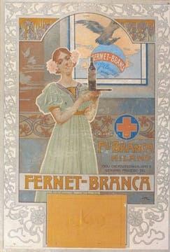 La mujer, una presencia constante en las primeras publicidades de la firma.. Foto: Gentileza Branca