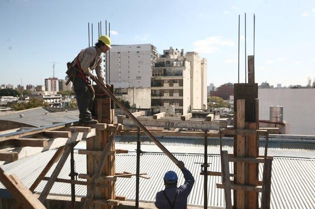 La construcción muestra indicadores de importante progreso