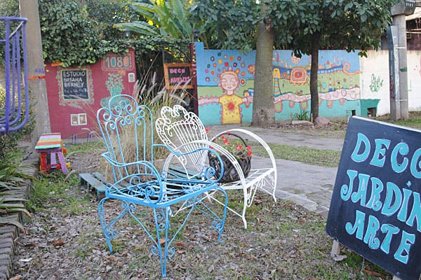 El estudio está ubicado en la calle Primera Junta, en San Isidro. Foto: Cecilia Wall