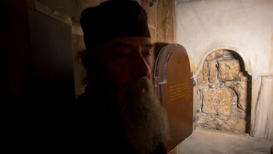 Las obras fueron posibles gracias al acuerdo de las tres iglesias cristianas (greco-ortodoxa, armenia apostólica y católica romana. Foto: AP / Sebastian Scheiner
