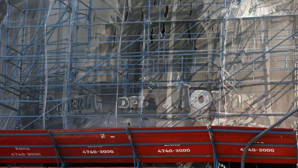 El edificio está cerrado desde hace dos décadas. Foto: LA NACION / Ricardo Pristupluk