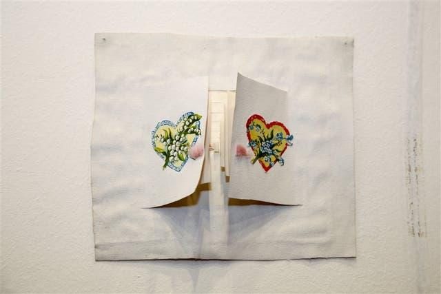 VENTANAS. Obra de Fernanda Laguna que, junto con otras dos de la artista, el Mamba compró en arteBA 2015 por $ 100.000