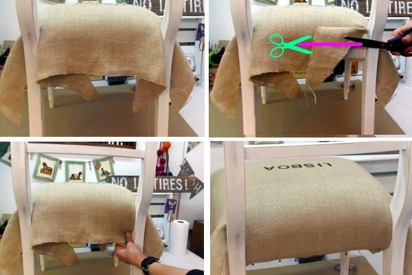 C mo tapizar una silla paso a paso revista ohlal - Como tapizar sillas ...