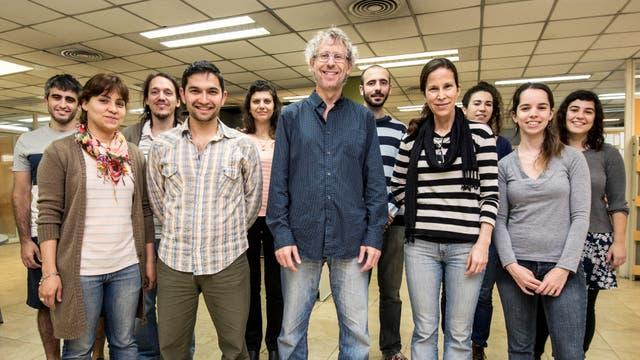 El equipo del Dr. Alejandro Schinder