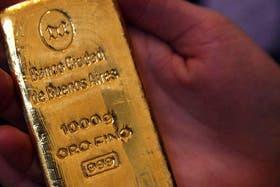 El oro que se ofrece al público en distintas formas atraviesa un procedimiento que garantiza su pureza