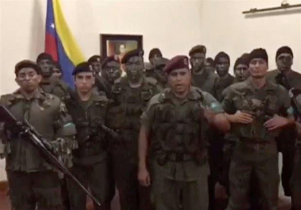 Captura del video del capitán Caguaripano