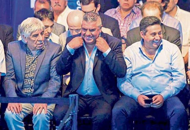 Moyano, Tapia y Angelici: nada bueno podemos esperar con esta calidad de dirigentes