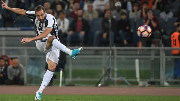 Gonzalo Higuaín, goleador de Juventus