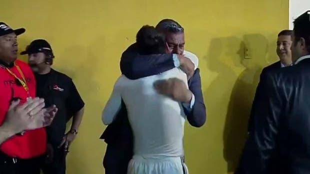 Un abrazo después del deshaogo